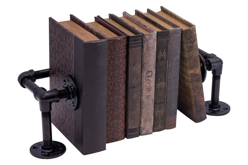 Rustic Industrial Book Stand